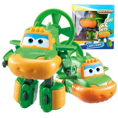 奥迪双钻(AULDEY)超级飞侠 男孩女孩儿童玩具 变形机器人-奇奇730253