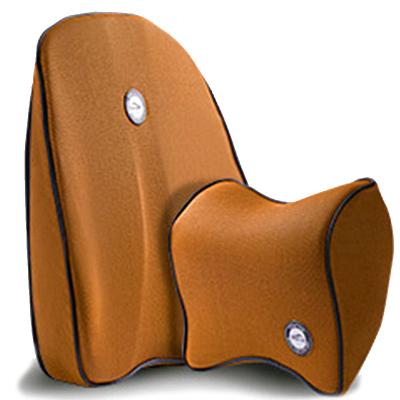静航(Static route)汽车头枕腰靠套装记忆棉靠枕车用靠背车内座椅枕靠腰托腰枕靠