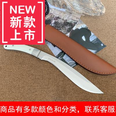 特战户外小刀防身军刀退役刀随身荒野求生刀高硬度锋利直刀军工刀