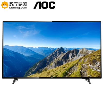 AOC 65U2 65英寸 4K超清 智能安卓 商用電視 可壁掛