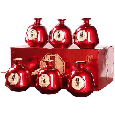 女兒紅 桂花林藏經典版來一壇花雕酒 500ml*6瓶整箱 半干型糯米紹興黃酒