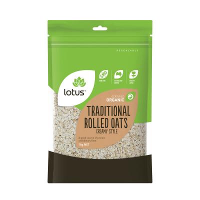 买二免一【保税直发】澳洲进口 Lotus 传统奶油燕麦燕麦片 杂粮粗粮 零食 1000g/袋