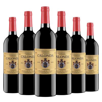 法國原瓶進口 卡隆達 仰慕干紅葡萄酒 14度 750ml*6瓶 整箱裝