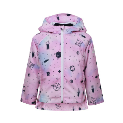 阿迪達斯童裝20年春款女童兒童兩件套梭織夾克 FM9706
