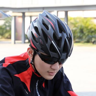 闪电客自行车头盔骑行装备四季男女款通用轻公路山地车帽单车头盔