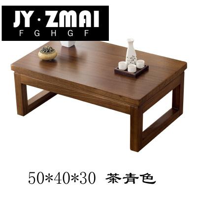 飘窗桌简约榻榻米茶几阳台小茶桌国学桌日式地台炕桌矮桌实木z-j16