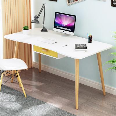 尋木匠北歐ins電腦桌臺式家用學習辦公寫字桌簡易現代臥室實木書桌