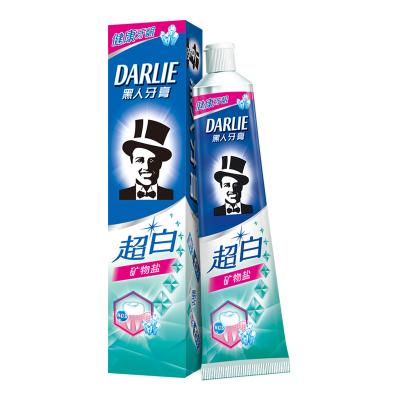 黑人(DARLIE)超白矿物盐牙膏 140g
