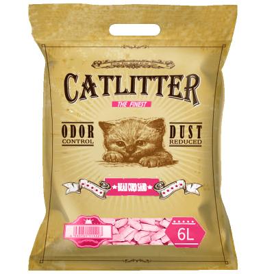 西西貓水蜜桃豆腐貓砂6L豆腐砂貓沙貓砂除臭貓砂貓咪用品貓砂豆腐砂