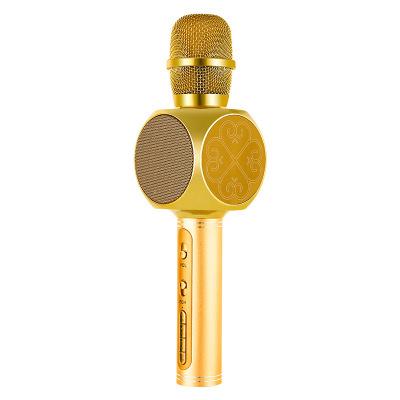 無線藍牙麥克風 手機全民K歌神器家用唱歌直播話筒音箱一體有線筒3MM啟融