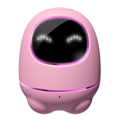 科大訊飛機器人iFLYTEK 阿爾法蛋小蛋智能機器人兒童學習早教玩具國學教育WIFI語音智能對話陪伴機器人 粉色