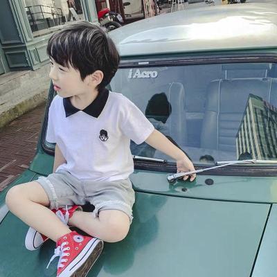 男童短袖2020新款夏裝新款棉兒童Polo衫中大童百搭夏季T恤薄潮6威珺