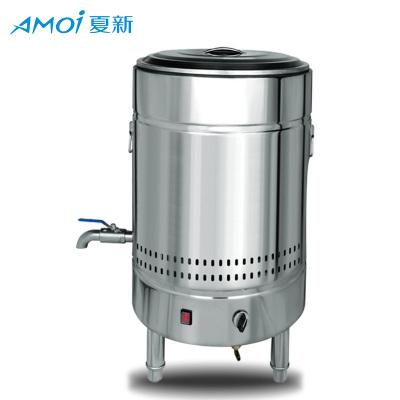 夏新煮面機商用電熱平底煮面爐燃氣節能下面機湯面爐多功能煲湯保溫桶燃氣版款40型號56L