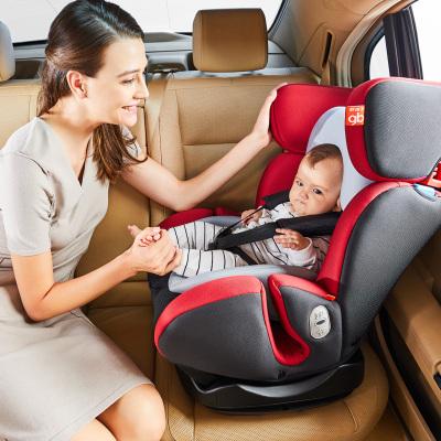 好孩子高速儿童安全座椅0-7岁 360度旋转 双向安装 坐躺调节3C欧标 isofix硬接口婴儿宝宝汽车座椅CS773