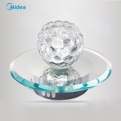 美的(Midea)LED天花灯玻璃晶射灯吸顶过道现代灯浪漫温馨个性创意走廊灯玄关衣帽间灯具照明5W