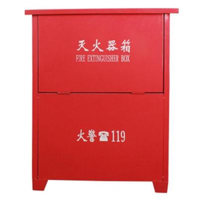 手提式干粉滅火器2kg3kg5kg滅火器 4kg*2干粉滅火器箱(個)