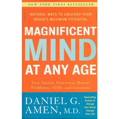 MAGNIFICENT MIND AT ANY AGE(ISBN=9780307339102) 英文原版