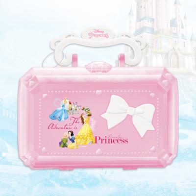 迪士尼美妝迷你盒(5只1展示盒)D22606A兒童化妝品組合彩妝盒男孩女孩玩具