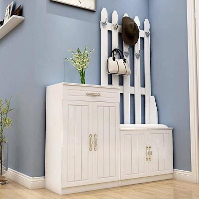 尋木匠歐式掛衣架鞋柜烤漆口玄關柜簡約現代鞋柜儲物柜廳柜衣帽柜