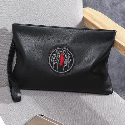 蒂蘭仕男包2020新款LZ-6091手拿包男士手包軟牛皮大容量手抓包男 韓版時尚信封包 時尚男包 男包 男士手包