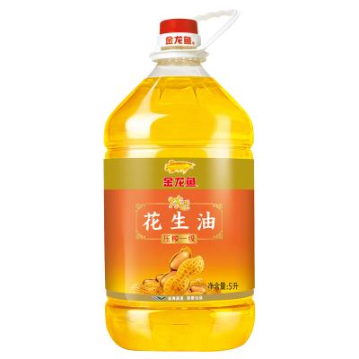 金龙鱼浓香花生油 5L 桶装食用油