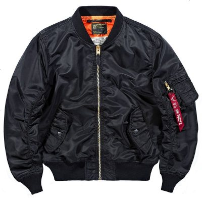 春季空軍1飛行員夾克男棒球服薄款大碼帥氣工裝外套潮流