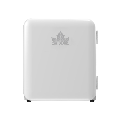 HCK哈士奇BC-46COC 化妝品小冰箱復古mini美妝護膚面膜冷藏家用柜小冰箱