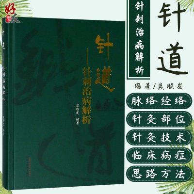 针道 治病解析 焦顺发编著 中国中医药出版社9787513248693