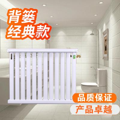 暖氣片家用閃電客鋼制衛浴小背簍/散熱器暖氣衛生間 銅鋁壁掛水暖散熱片 銅鋁10+1長80 0.6m