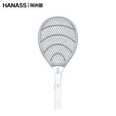 海纳斯(HANASS)电蚊拍XT-158 电蚊拍充电式电池驱蚊器 家用LED灯无味驱蚊驱虫灭蚊拍苍蝇拍