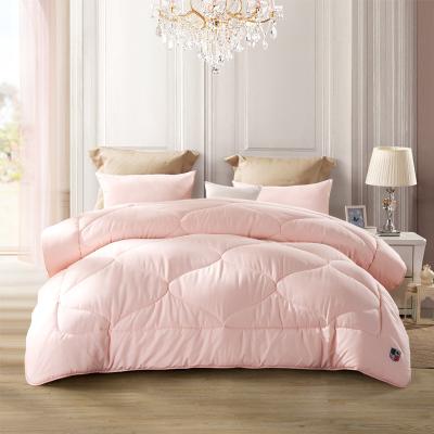 LOVO 暖绒绒春秋被 1.2m床(150*215cm) 暖绒绒春秋被粉色