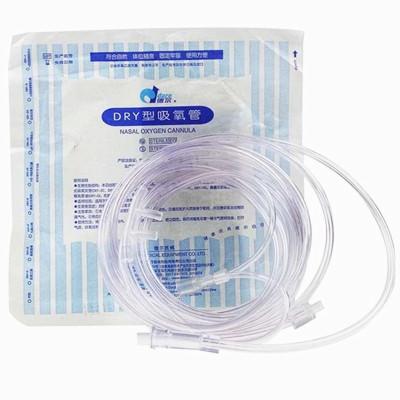 德爾2米吸氧管雙鼻塞氧氣管鼻吸管(1條裝)適用于魚躍亞適英維康歐姆龍凱亞邁卓新松海龜氧氣盒子亞奧康尚制氧機通用配件