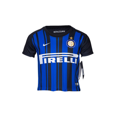 耐克(Nike) 国际米兰 婴童版球迷服套装 球衣套装 蓝黑色
