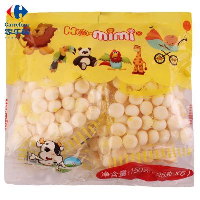 【家乐?!亢妹牢?HO.mimi)牛奶味小馒头150克 印度尼西亚进口饼干