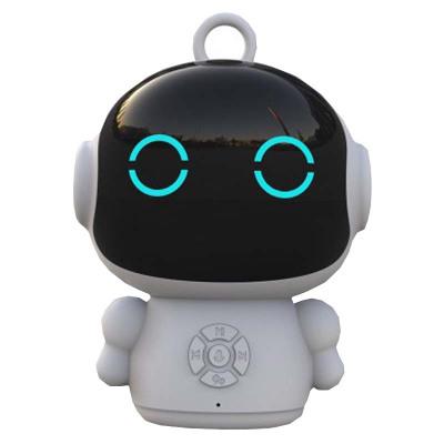 泰翼革胡巴智能早教智能故事機器人語音互動兒童學習wifi教育益智胡巴機器人PVC環保材質