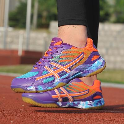 18公主(SHIBAGONGZHU)兒童羽毛球鞋男女童牛筋底羽球鞋訓練鞋情侶運動鞋男鞋