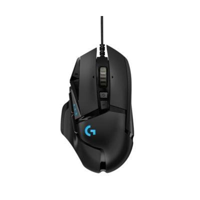 羅技(Logitech)G502 HERO主宰者有線電競游戲吃雞鼠標加重模塊臺式機筆記本絕地求生USB光電G502升級款