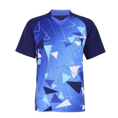 STIGA斯蒂卡乒乓球服運動短袖T恤男款女乒乓球衣服透氣速干上衣*.*