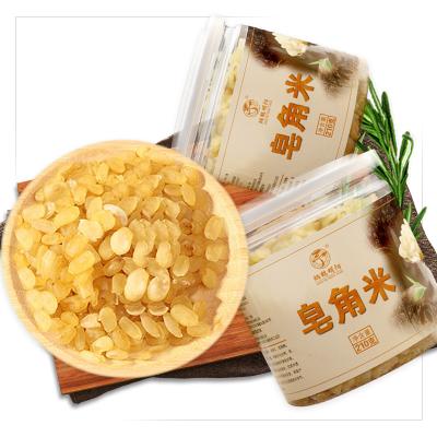 再春堂(zaichuntang) 精選皂角米 雪蓮子 桃膠搭配伴侶 單莢皂角米210克 瓶裝 保健茶飲 花草茶