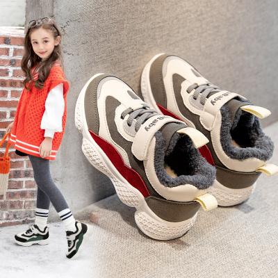 女童运动鞋加绒加厚棉鞋2019新款冬鞋冬季女孩鞋子儿童大棉童鞋潮威珺