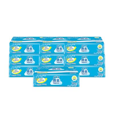 潔云 平板紙 加韌 300張10包組合裝衛生紙 原生漿廁紙草紙柔韌厚實