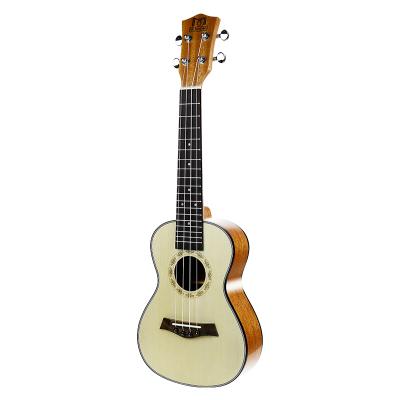 莫森(MOSEN) MUC810云杉木ukulele尤克里里烏克麗麗初學者jita入門吉它樂器小吉他23英寸