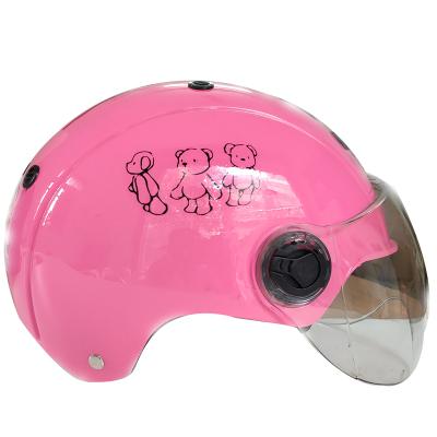 友用行新出頭盔電動摩托車頭盔四季男女士半盔防曬頭盔夏季頭盔安全帽顏色款式需留言備注不備注隨機發貨