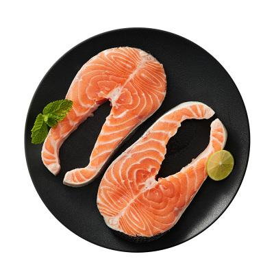 美威 智利轮切三文鱼 (大西洋鲑)480g/袋