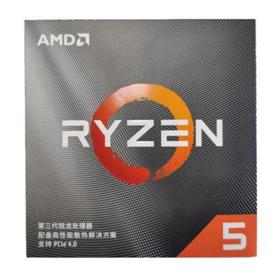 AMD 銳龍5 3500X 處理器 (R5) 6核6線程3.6GHz65W AM4接口 盒裝CPU 第三代銳龍 配套X570/X470/B450/A320主板及顯卡使用