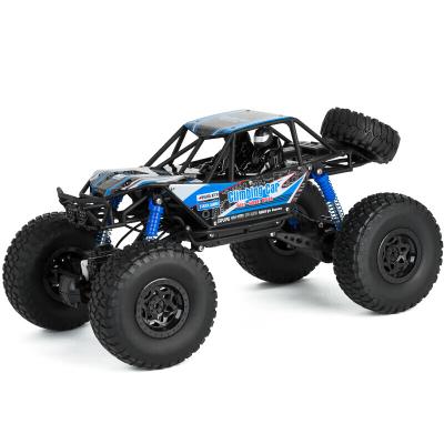美致模型(MZ)遥控车 48cm大脚攀爬车高速四驱越野赛车 超大号礼盒汽车模型(双电版)宝石蓝2837S