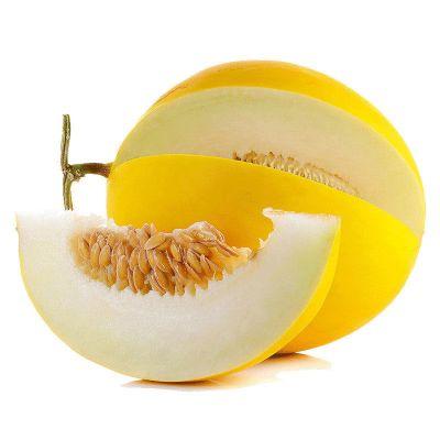 果農富【2件起售】緬甸黃河蜜瓜 1-2個 約4-4.5斤 新鮮水果黃河蜜瓜金瓜黃皮甜瓜香瓜