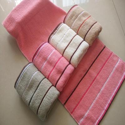 4條毛巾純棉洗臉家用成人加厚棉柔軟吸水面巾回禮品禮盒裝批蕟
