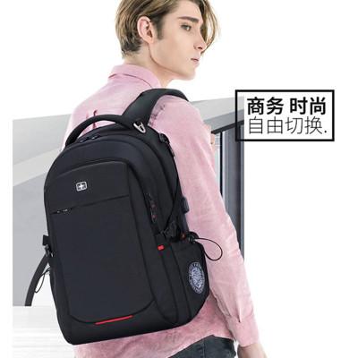 (VENTIGA)梵蒂加男包背包BY-1669新款背包大容量商務旅行背包時尚潮流大中學生書包男士雙肩包