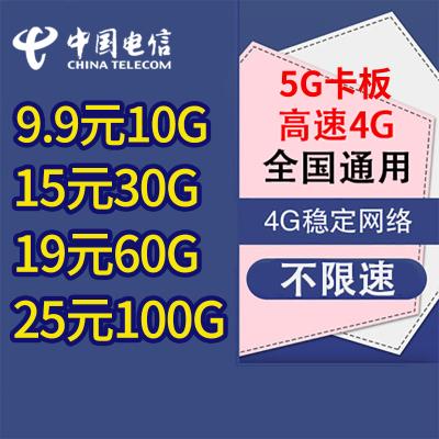 移動流量卡4G全國通用純流量卡全國不限量無限卡不限流量0月租全國無限流量卡聯通5G流量卡不限速手機卡電話卡